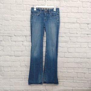Paige VINTAGE   Hidden Hills Style Flare Leg Jeans